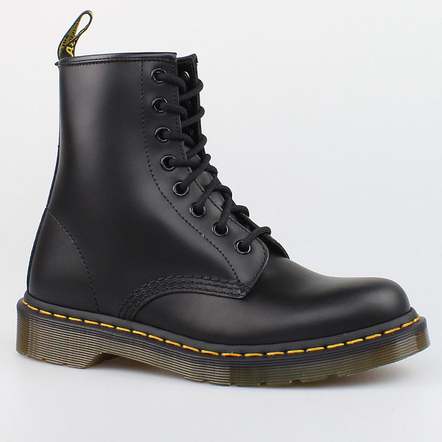 dr doc martens stiefel 8 loch boots 1460 last black schwarz leder schuhe ebay. Black Bedroom Furniture Sets. Home Design Ideas