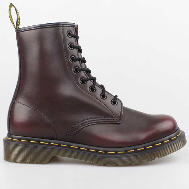 dr doc martens stiefel 8 loch boots rot vintage bordeaux pascal leder schuhe ebay. Black Bedroom Furniture Sets. Home Design Ideas