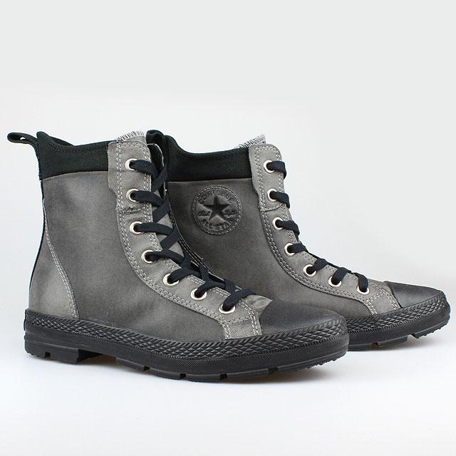 details about converse all star chucks stiefel grau schwarz black grey. Black Bedroom Furniture Sets. Home Design Ideas