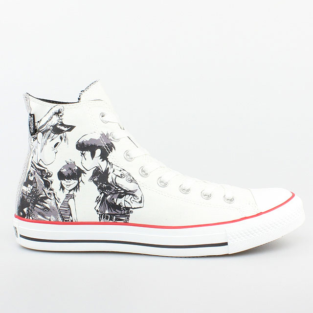 converse all star chucks hi can gorillaz lead weiss white 132320c. Black Bedroom Furniture Sets. Home Design Ideas