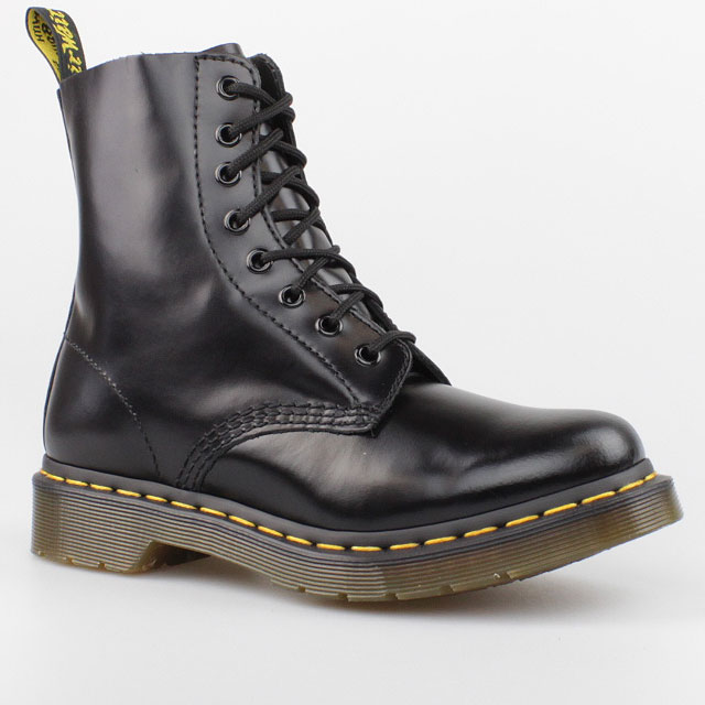 dr doc martens 8 loch boots pascal buttero black schwarz stiefel 8eye leder ebay. Black Bedroom Furniture Sets. Home Design Ideas