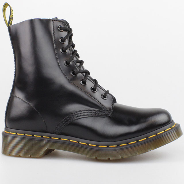 dr doc martens 8 loch boots pascal buttero black schwarz. Black Bedroom Furniture Sets. Home Design Ideas