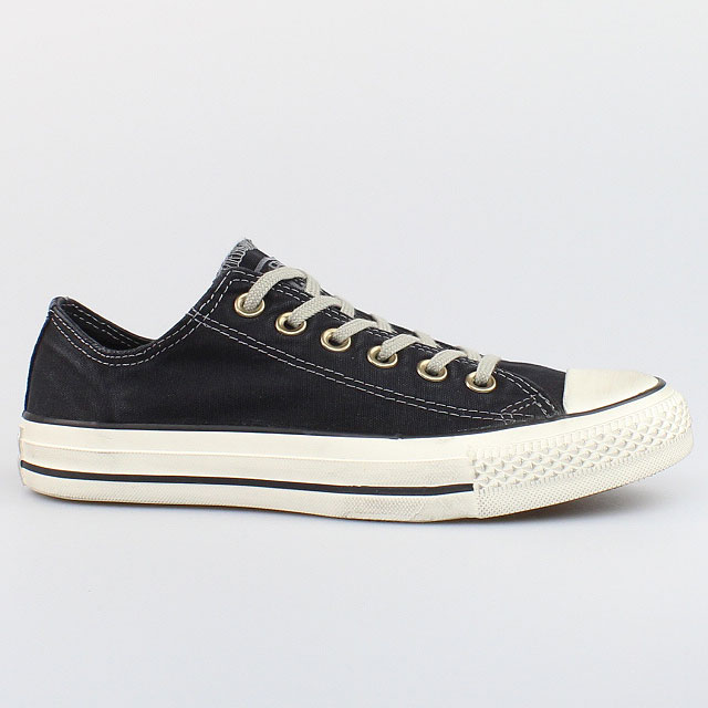 converse all star chucks well worn ox cotton black schwarz. Black Bedroom Furniture Sets. Home Design Ideas