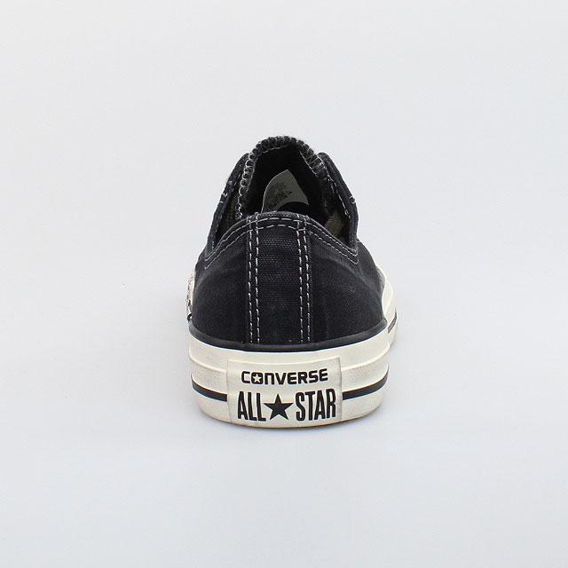 converse all star chucks well worn ox cotton black schwarz. Black Bedroom Furniture Sets. Home Design Ideas