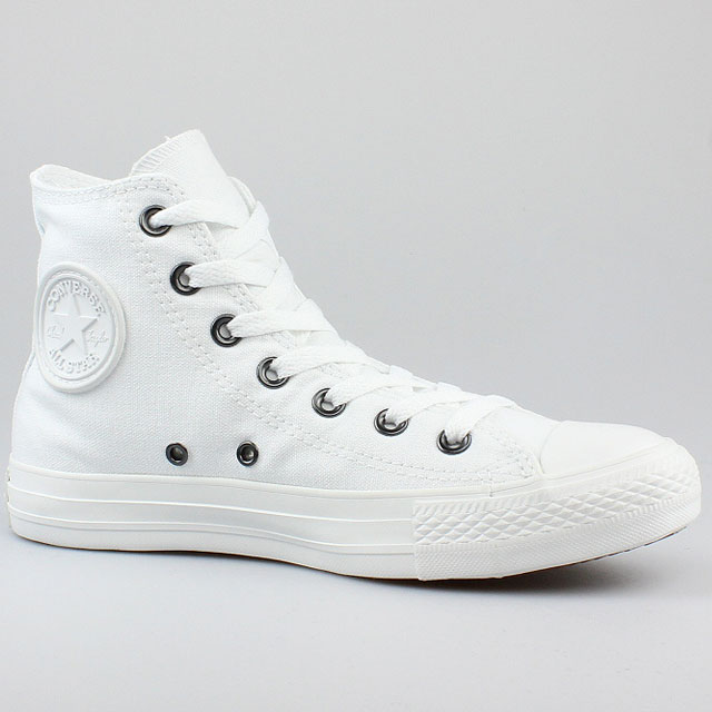 details about converse all star chucks hi mono chrome weiss white. Black Bedroom Furniture Sets. Home Design Ideas