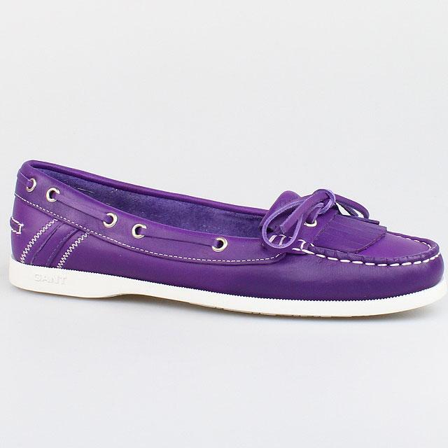 gant damen schuhe serena gr 40 lila purple leder. Black Bedroom Furniture Sets. Home Design Ideas