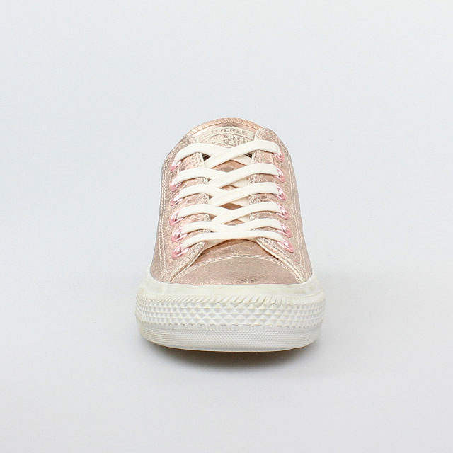 converse all star chucks ox rose gold white weiss rosa. Black Bedroom Furniture Sets. Home Design Ideas
