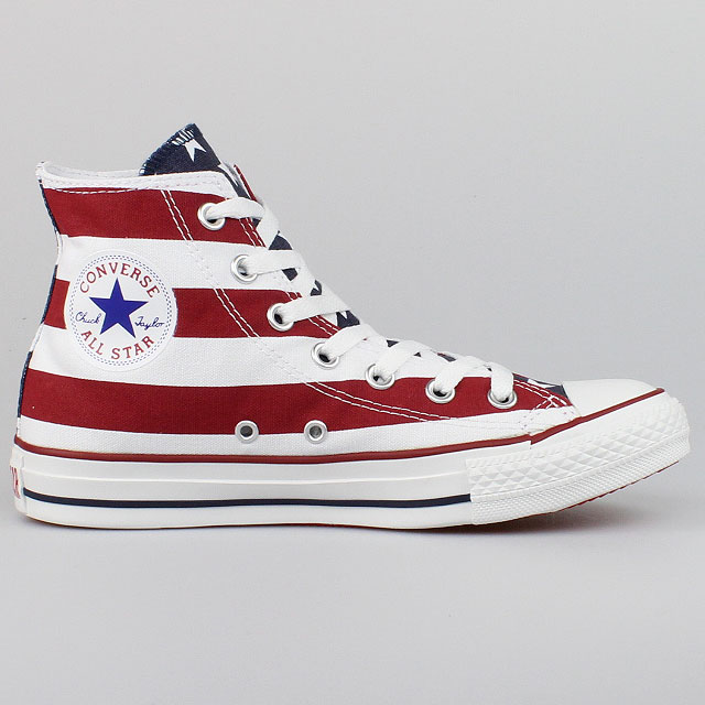 CONVERSE-ALL-STAR-CHUCKS-HI-STARS-AND-BARS-STRIPES-USA-FLAG-M8437-SCHUHE