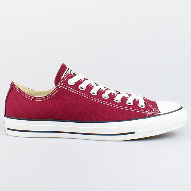converse all star chucks ox core maroon rot red m9691c. Black Bedroom Furniture Sets. Home Design Ideas
