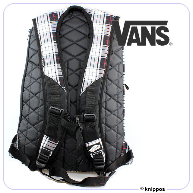vans rucksack schwarz weiss kariert vnvjl8p tasche. Black Bedroom Furniture Sets. Home Design Ideas