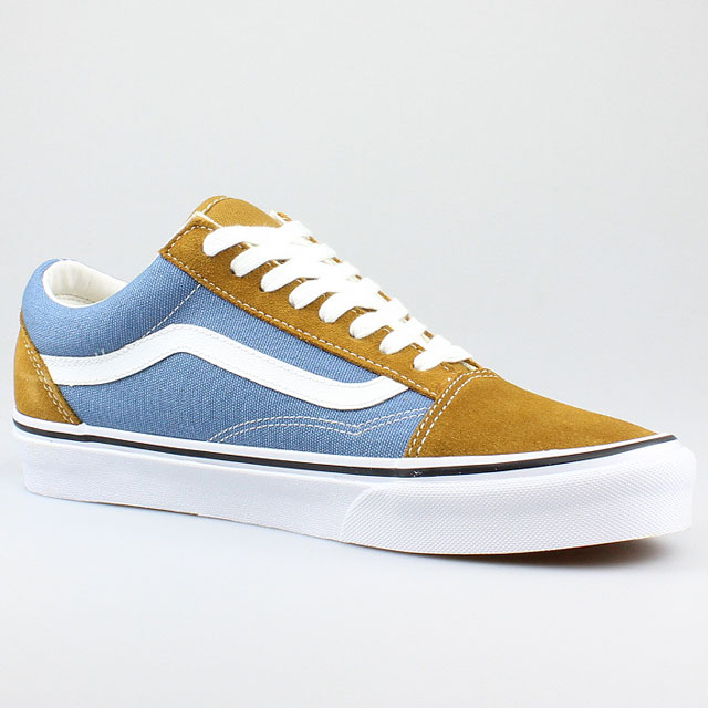 vans old skool blau braun