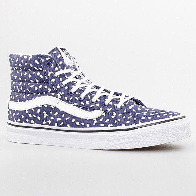 VANS-DAMEN-SCHUHE-SK8-HI-SLIM-BLAU-WEISS-BLUE-WHITE-LEOPARD-VXH7FG9-AUTHENTIC
