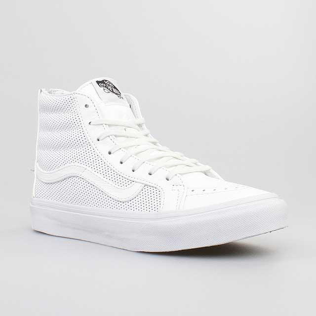 vans sk8 high weiß