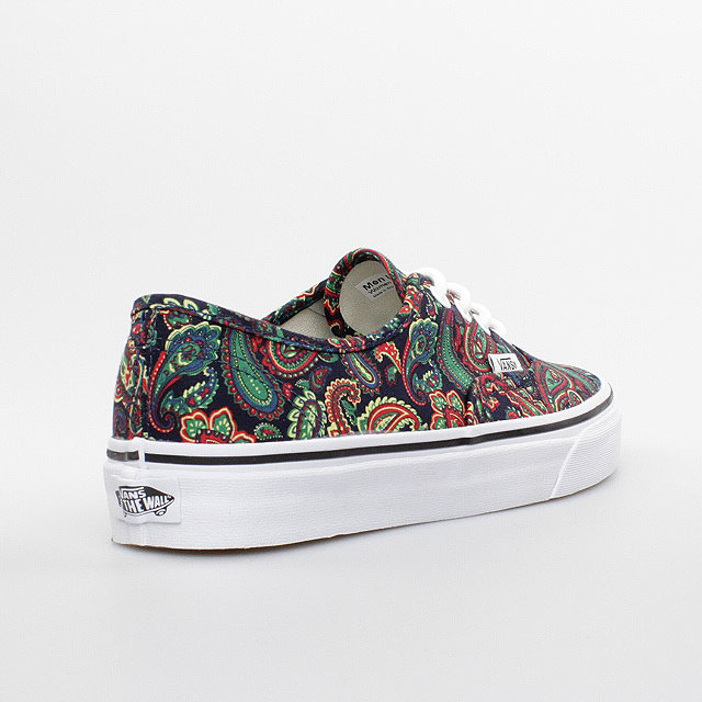 vans damen schuhe authentic paisley dunkel blau dark blue. Black Bedroom Furniture Sets. Home Design Ideas
