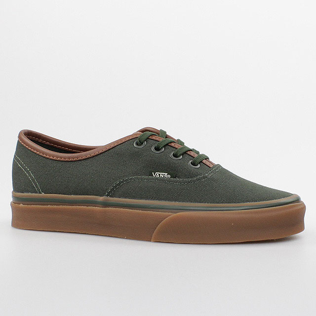 vans authentic grün