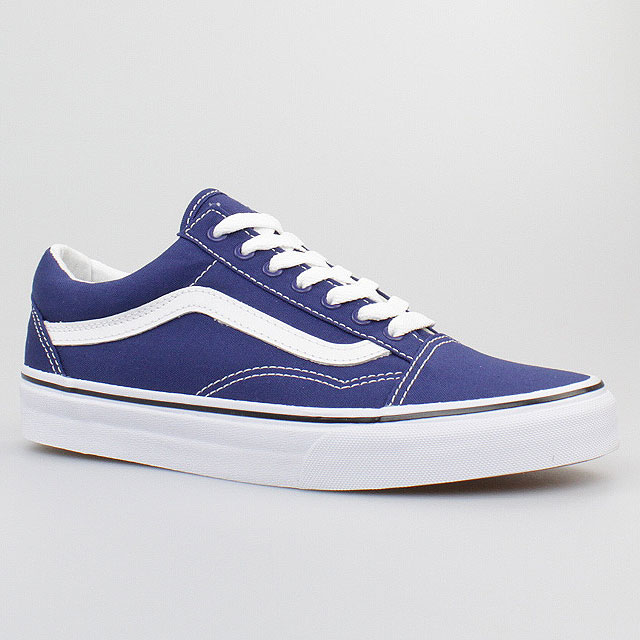 vans schuhe old skool canvas twilight blue true white blau. Black Bedroom Furniture Sets. Home Design Ideas
