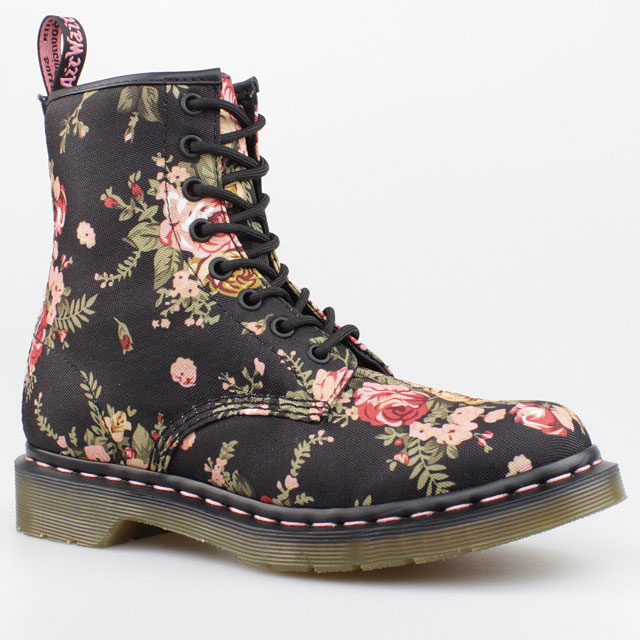 dr doc martens stiefel victorian flowers 8 eye boot. Black Bedroom Furniture Sets. Home Design Ideas