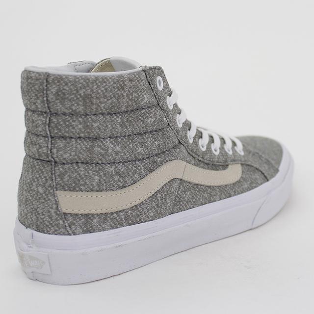 VANS SCHUHE SK8 HI Slim Frost Grey Grau Canvas Va32R2Oee