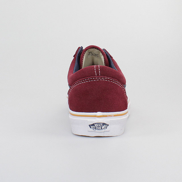 vans zapatos old skool suede leather oxblood red rojo de. Black Bedroom Furniture Sets. Home Design Ideas